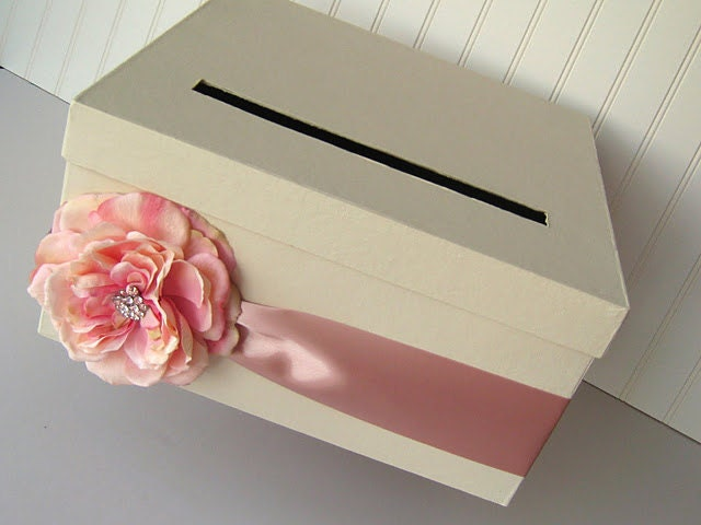 diy wedding card box instructions