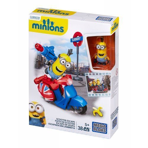 mega bloks minions supervillain jet instructions