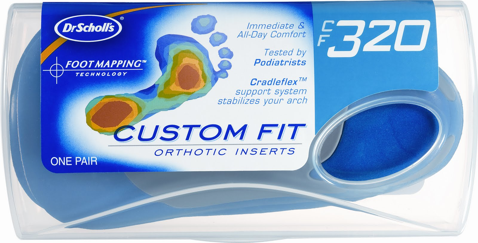 dr scholl custom fit orthotics instructions