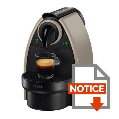 nespresso magimix m200 descaling instructions