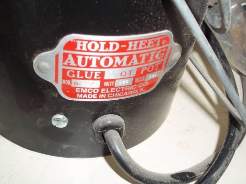 hold heet glue pot instructions