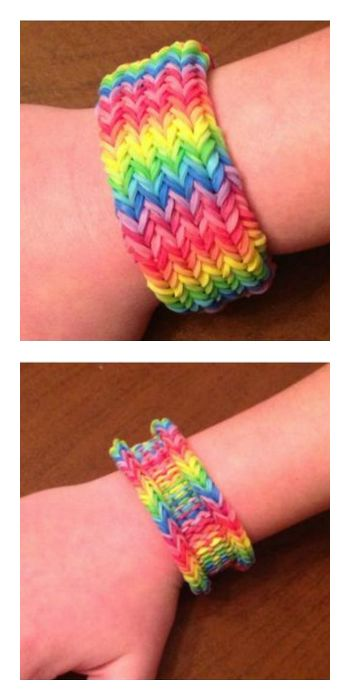 fun loom bracelet making kit instructions