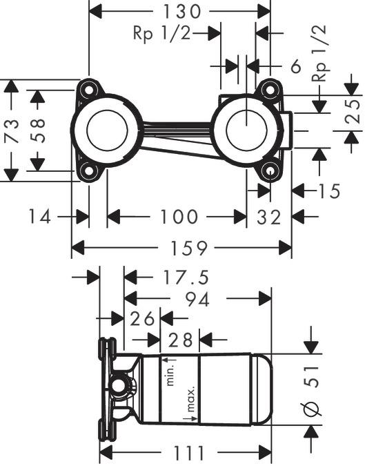 hansgrohe ibox installation instructions