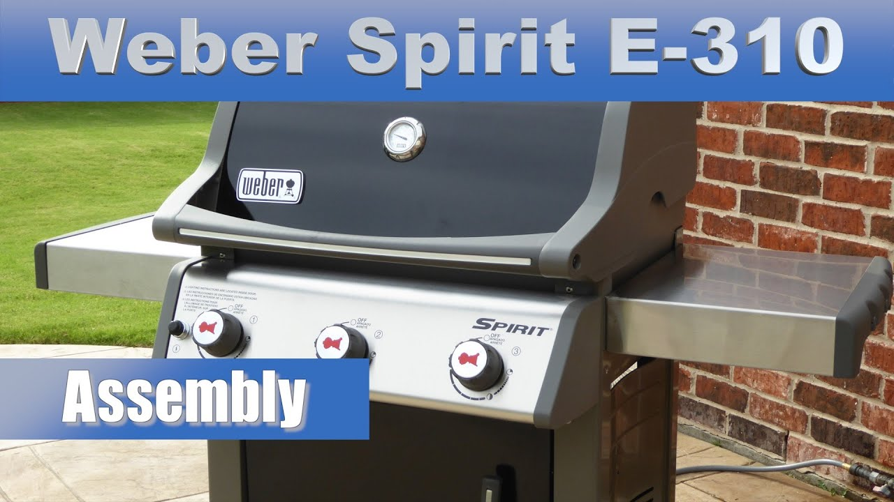 jumbuck 2 burner bbq assembly instructions