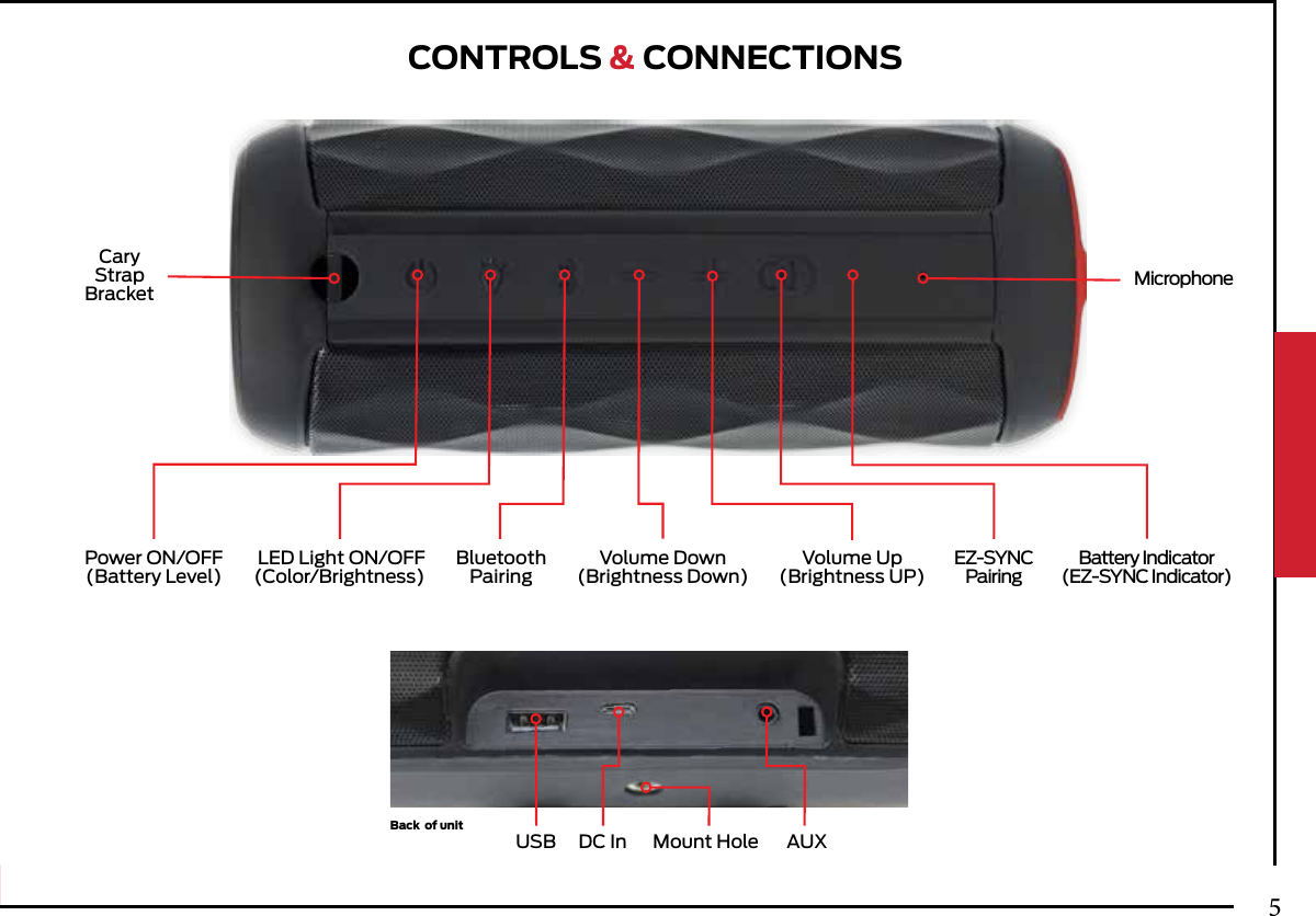 jvc portable bluetooth speaker instructions