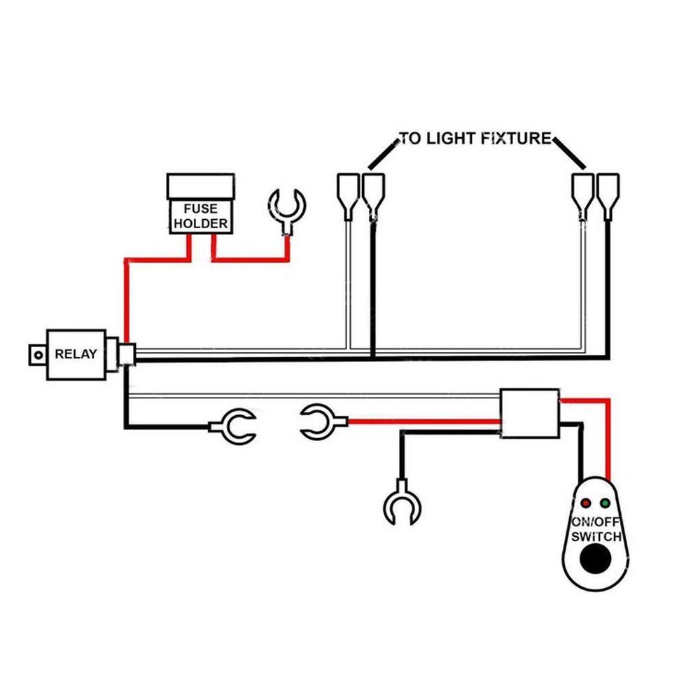 led light bar wiring harness instructions
