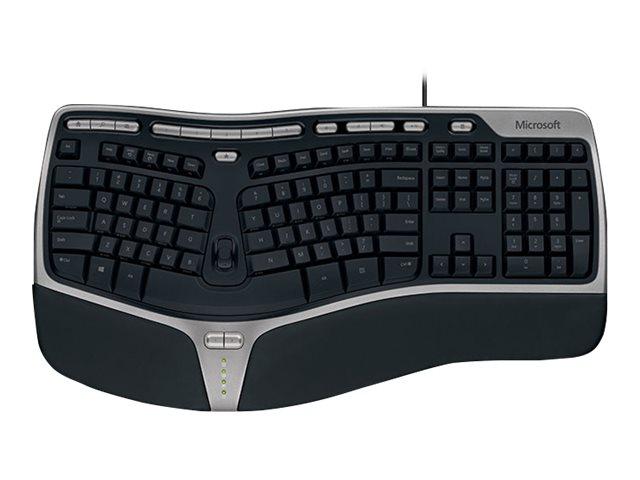 microsoft ergonomic keyboard instructions