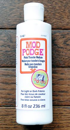 mod podge photo transfer medium instructions
