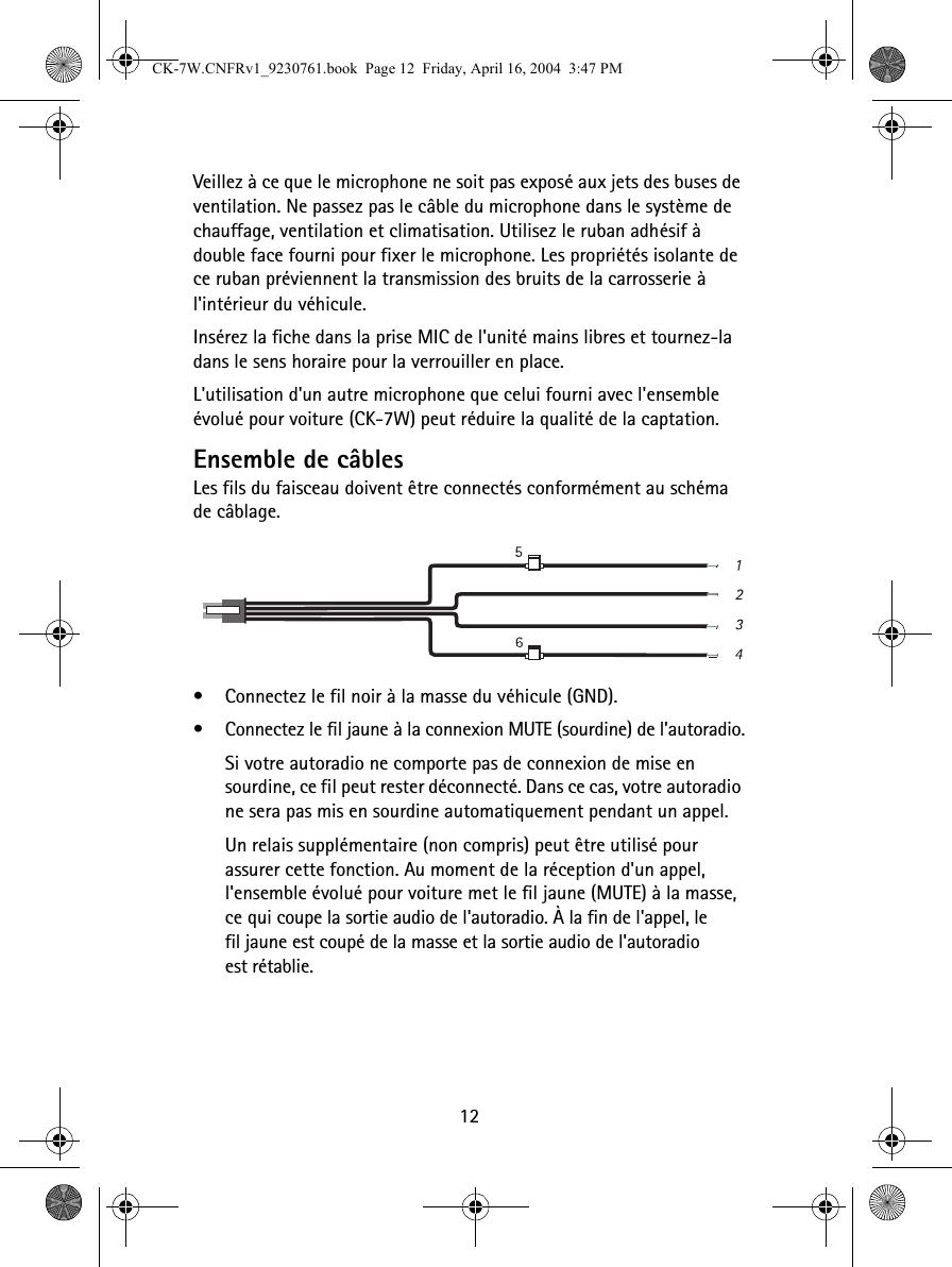 nokia hands free kit instructions