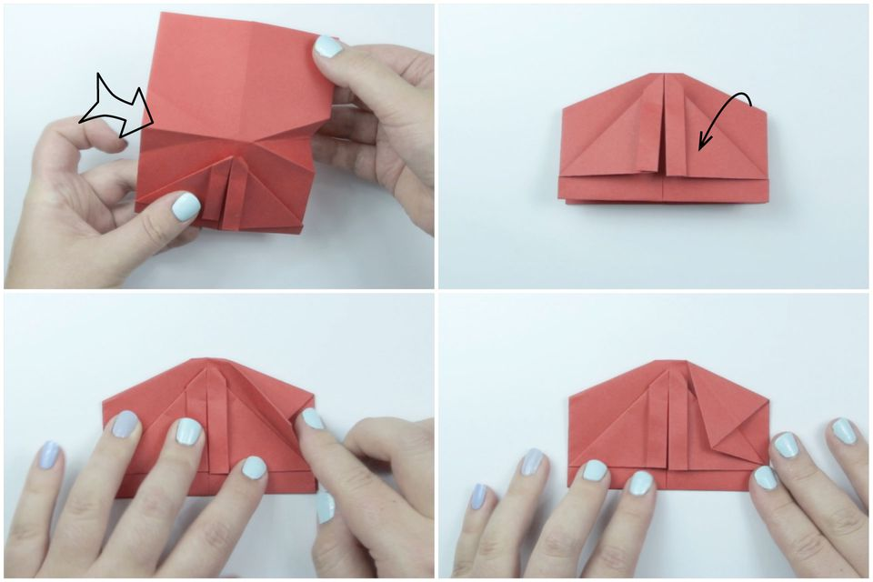 origami kimono folding instructions