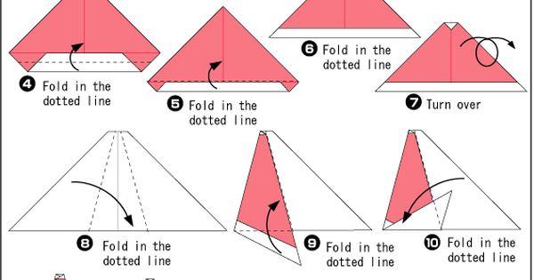 origami santa sleigh instructions