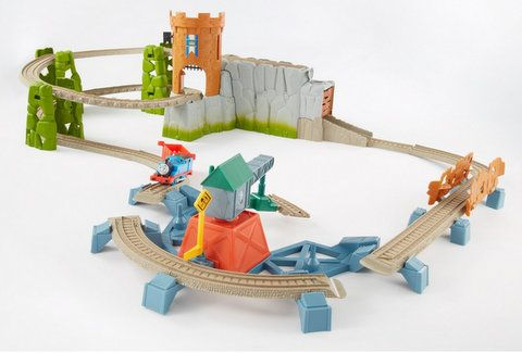 thomas the train trackmaster castle quest set instructions