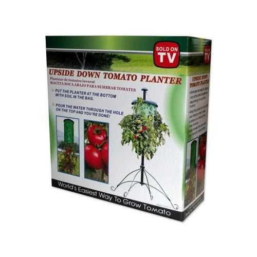 upside down tomato planter instructions
