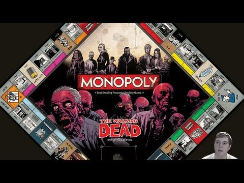 walking dead monopoly instructions