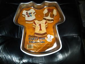wilton football cake pan instructions